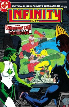 Infinity, Inc. (1984-) #8