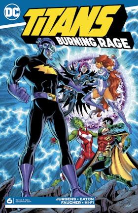 Titans: Burning Rage #6