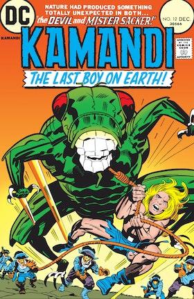 Kamandi: The Last Boy on Earth #12