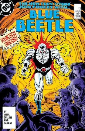 Blue Beetle (1986-) #13