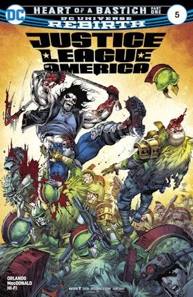 Justice League of America (2017-) #5
