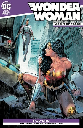 Wonder Woman: Agent of Peace #11