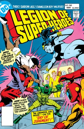 The Legion of Super-Heroes (1980-) #263