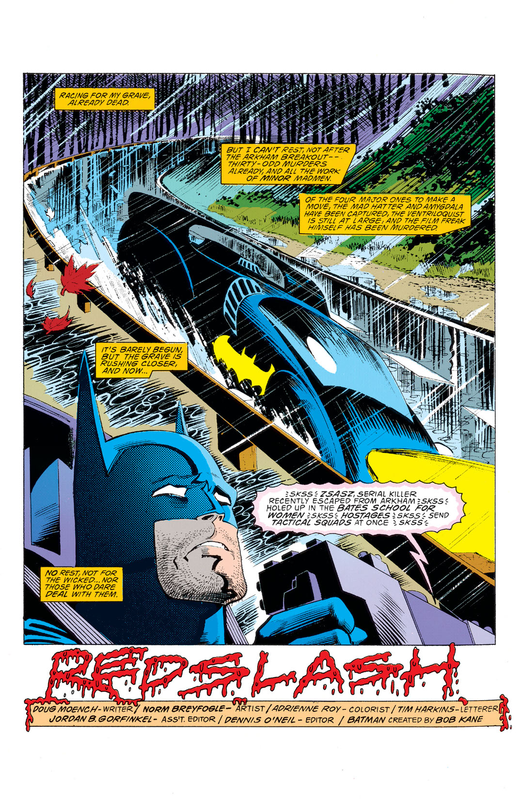 Read Batman 1940 493 On Dc Universe