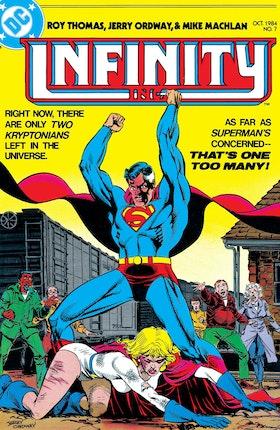 Infinity, Inc. (1984-) #7
