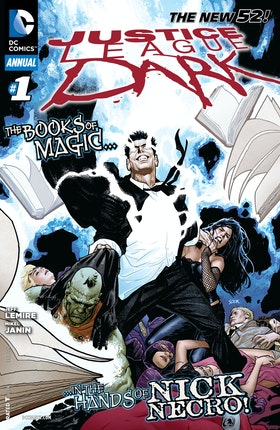 Justice League Dark Annual (2012-) #1