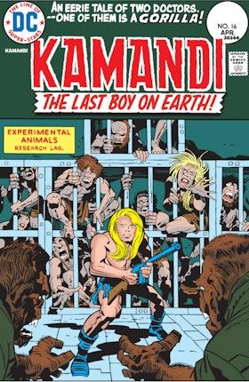Kamandi: The Last Boy on Earth #16
