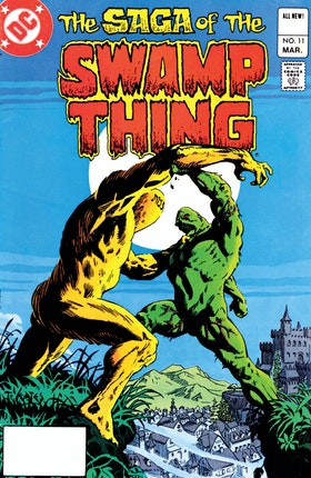 The Saga of the Swamp Thing (1982-) #11