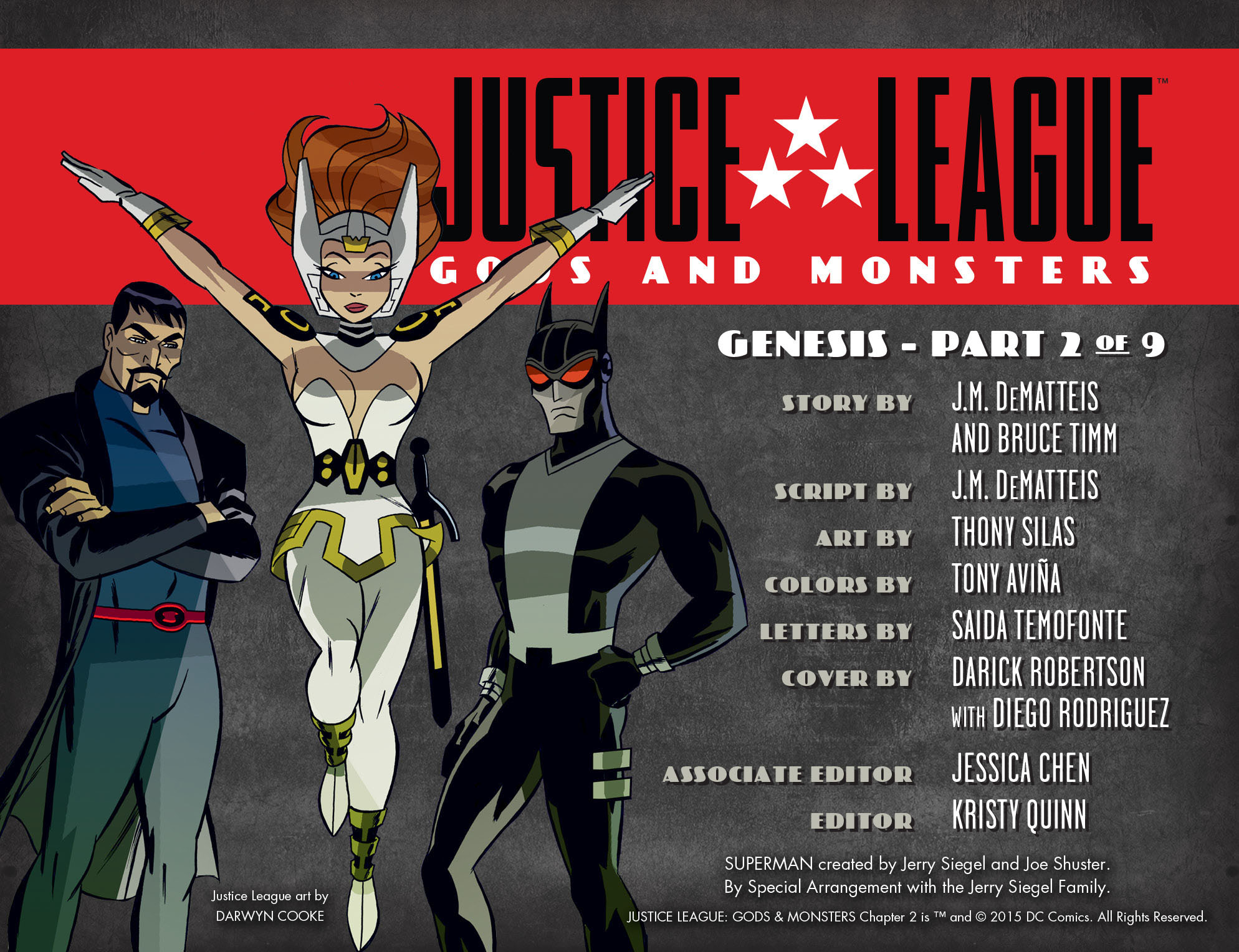 Read Justice League: Gods & Monsters (2015-) #2 on DC Universe