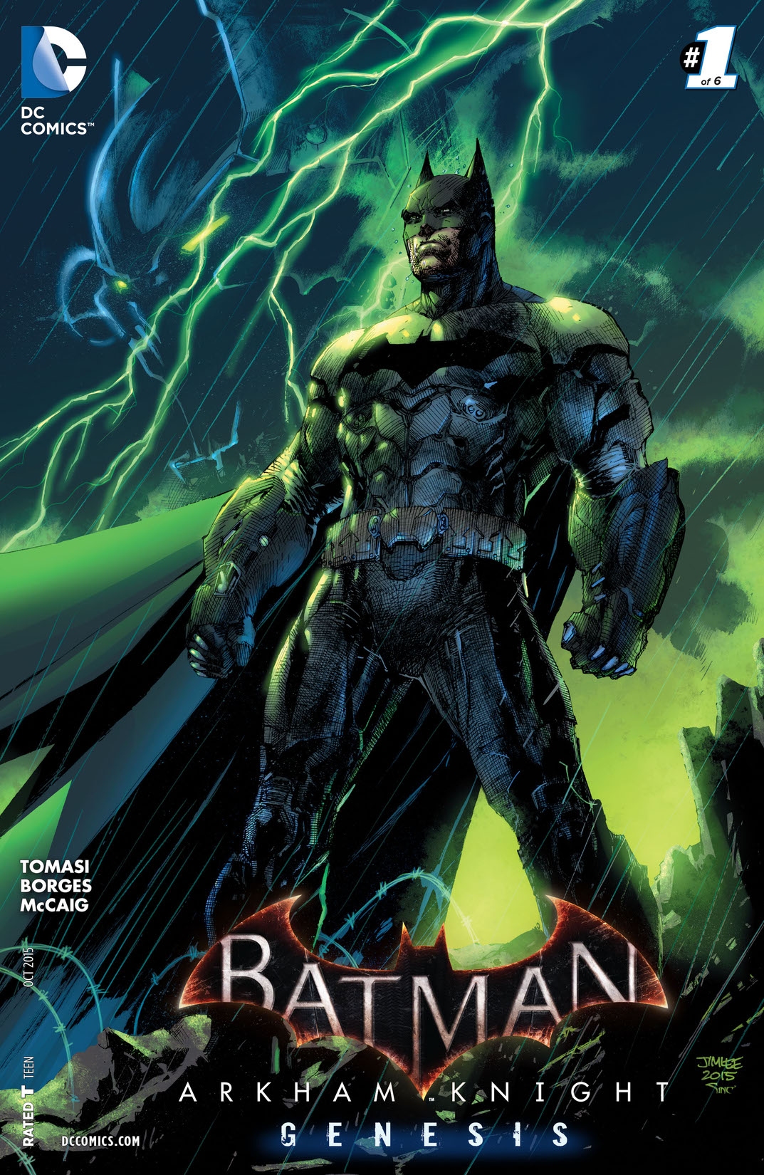 NEW!!! of 6 Batman Arkham Knight Genesis #6