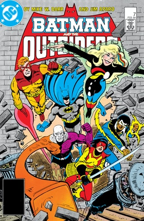 Batman and the Outsiders (1983-) #7