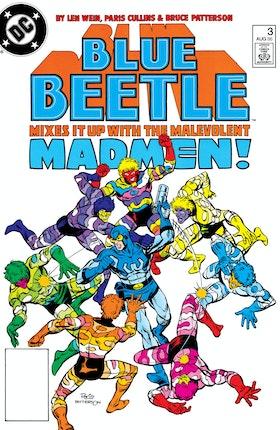 Blue Beetle (1986-) #3