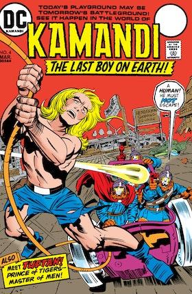 Kamandi: The Last Boy on Earth #4