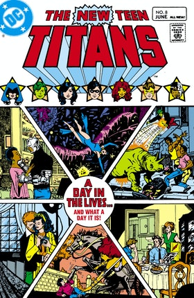 The New Teen Titans #8