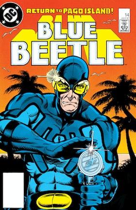 Blue Beetle (1986-) #14