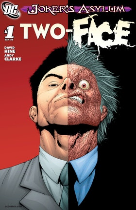 Joker's Asylum: Two-Face #1