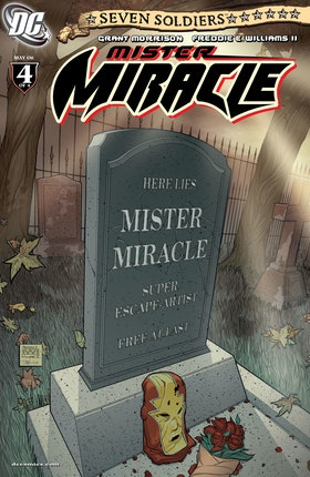 Seven Soldiers: Mister Miracle #4