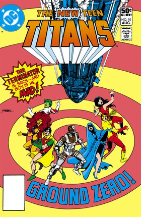The New Teen Titans #10