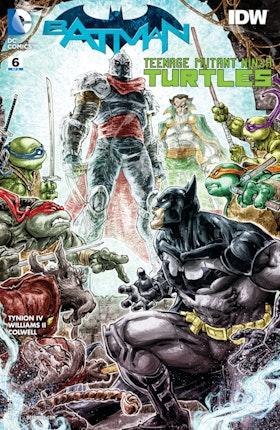 Batman/Teenage Mutant Ninja Turtles #6