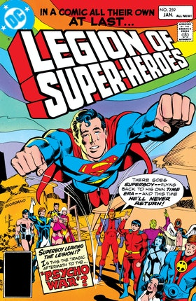 The Legion of Super-Heroes (1980-) #259