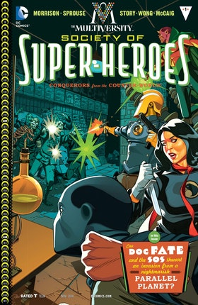 The Multiversity: The Society of Super-Heroes #1