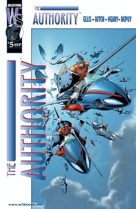 The Authority (1999-) #5