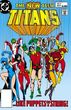 The New Teen Titans #9