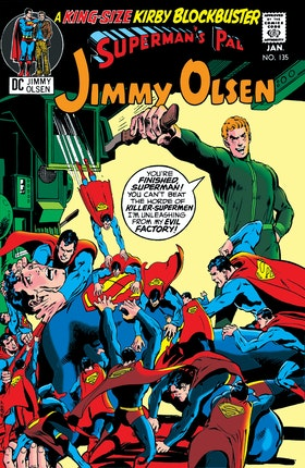 Superman's Pal, Jimmy Olsen #135
