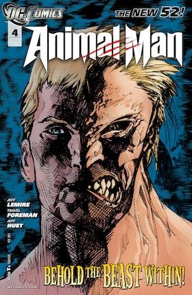 Animal Man (2011-) #4