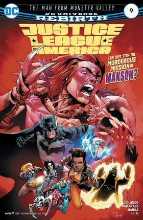 Justice League of America (2017-) #9