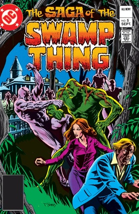 The Saga of the Swamp Thing (1982-) #5