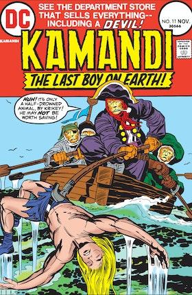 Kamandi: The Last Boy on Earth #11