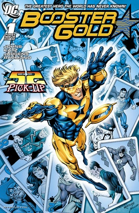 Booster Gold (2007-) #1