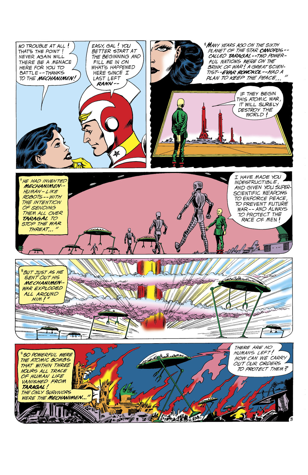 Read Mystery in Space (1951-) #65 on DC Universe
